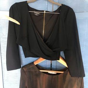 Bundle, BeBe top, Sheer dress